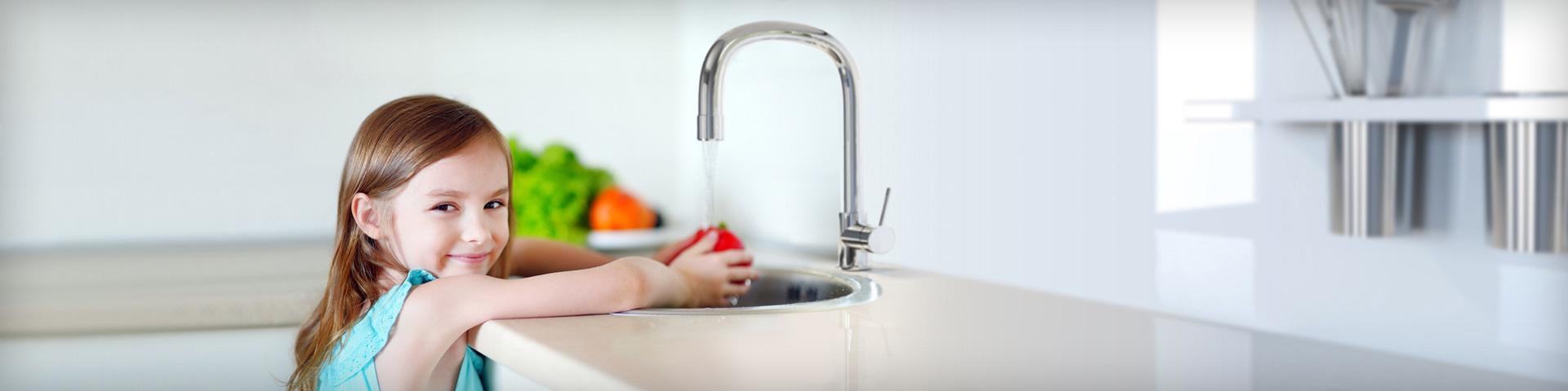 Απολαύστε καθαρό,</br>υγιεινό νερό, κάθε μέρα!