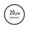 Ικανότητα φίλτρανσης 20 μm