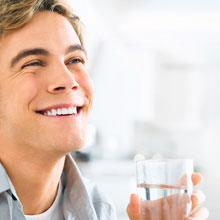 Καθαρό, υγιεινό νερό στο ποτήρι σας, κάθε στιγμή!