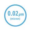 Ικανότητα φίλτρανσης 0.02 μm / υπερφίλτρανση (UF)