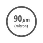 Ικανότητα φίλτρανσης 90 μm