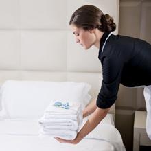 Απαλές, αφράτες πετσέτες<br/>και λευκά είδη